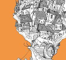 Snail House by jessicagadra