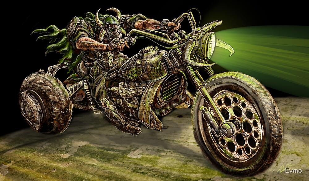 Barbaric Apocalypse Marauder by Evan F.E. Lole