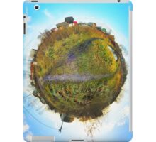 Earth and blue sky iPad Case/Skin