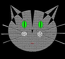 Kute Kitty Meow Meow by Dmarie Frankulin