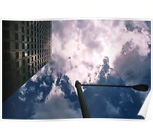 Big City Skyline........lamp post Sydney CBD Poster