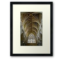 Cathedral St. Peter in Exeter Framed Print