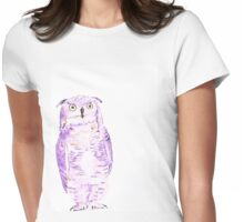 Athena - watercolor and ink Womens Fitted T-Shirt