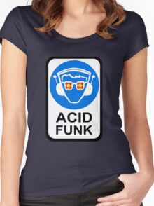 ACID FUNK Women's Fitted Scoop T-Shirt