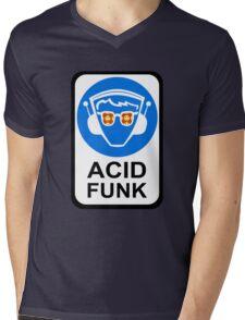 ACID FUNK Mens V-Neck T-Shirt