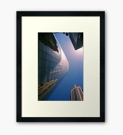 Big City Skyline.......doubled Sydney CBD Framed Print
