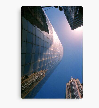 Big City Skyline.......doubled Sydney CBD Canvas Print