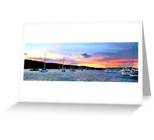 At Rest - Newport Beach - The HDR Series Greeting Card