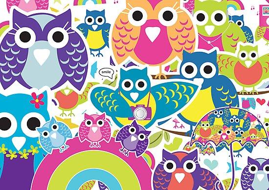 owls by teegs