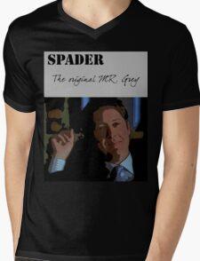James spader - The Original Mr Grey Mens V-Neck T-Shirt