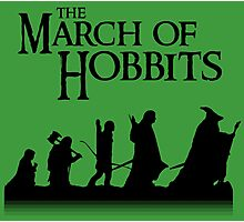 The March of Hobbits Photographic Print