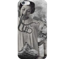 Saturday Moon Visits iPhone Case/Skin