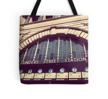 Flinders street station - MEL Tote Bag
