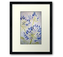 agapathus 'for the love of flowers' © 2007 patricia vannucci  Framed Print