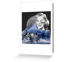What're you looking at? Greeting Card