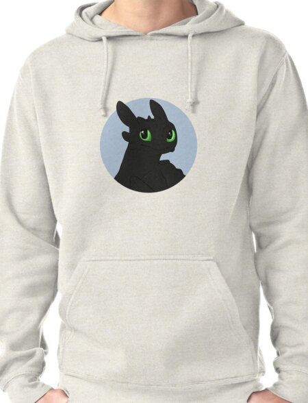 Toothless Pullover Hoodie