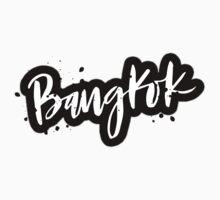 Bangkok Brush Lettering by squiddyshop