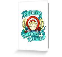 steve says do good Greeting Card