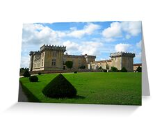 Castle in Cognac Greeting Card