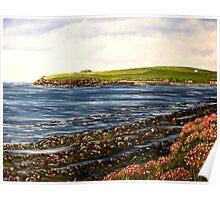 """""""Kilbaha - county Clare, Ireland"""" - Oil Painting Poster"""