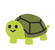 Turtle Google Hangouts / Android Emoji by emoji