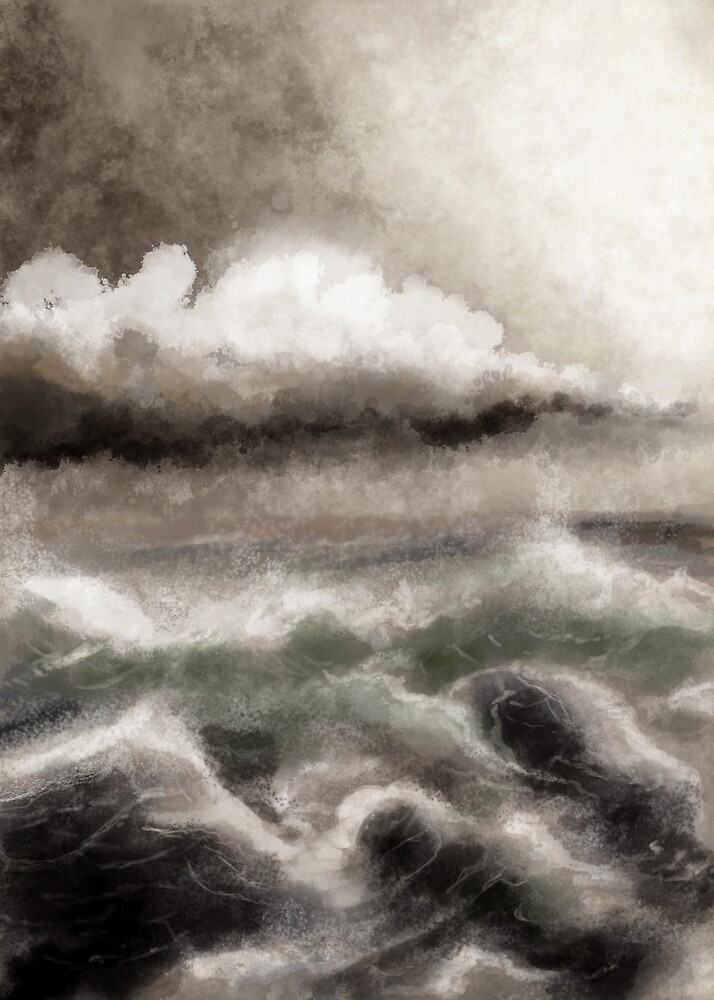 Soapy Sea by Ed Clews