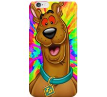 Scooby doo tripping out iPhone Case/Skin