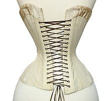Antique Corset from the 19th Century Photographic Print