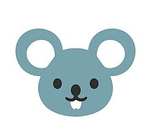 Mouse Face Google Hangouts / Android Emoji by emoji