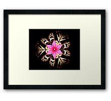 Tropical Blossom Framed Print