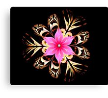 Tropical Blossom Canvas Print