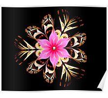 Tropical Blossom Poster