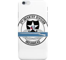 2nd Infantry CIB iPhone Case/Skin
