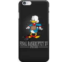 Final Bankruptcy XV iPhone Case/Skin