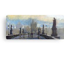 Prague Charles Bridge 06 Metal Print