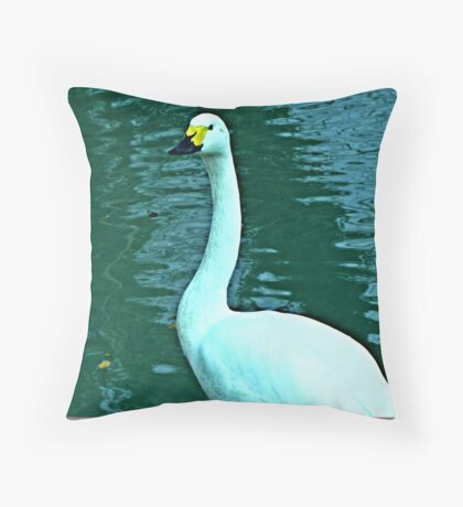Another visitor to our shores Throw Pillow