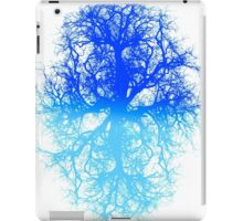 tree branch vessels darkart lungs black blue RISHAMA  iPad Case/Skin