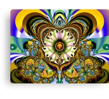 Fractal illusions Canvas Print