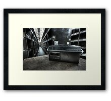 Stock Radio Framed Print
