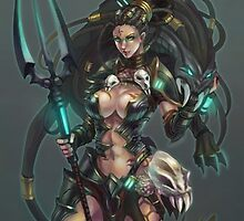 Headhunter Nidalee - League of Legends by MindxCrush