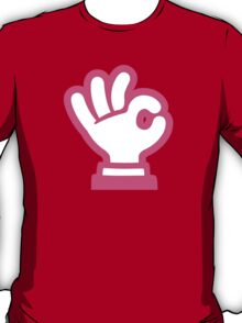 Ok Hand Sign Google Hangouts / Android Emoji T-Shirt