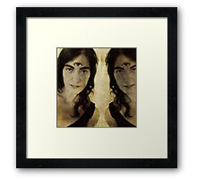 Identify Yourself Framed Print