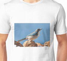 Western Scrub-Jay at Red Rocks Unisex T-Shirt