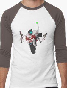 Dr. Zed's Claptrap Sticker Men's Baseball ¾ T-Shirt