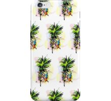 Abstract Watercolor Pineapple iPhone Case/Skin