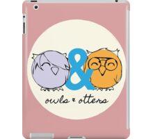 Owls & Otters - ( O&O Emblem ) iPad Case/Skin