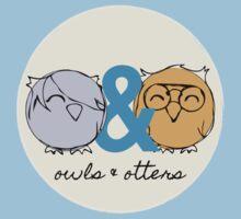 Owls & Otters - ( O&O Emblem ) by Adrian I. Garcia