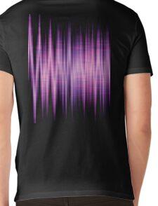 High Energy Lavender Waves Mens V-Neck T-Shirt