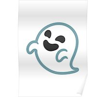 Ghost Google Hangouts / Android Emoji Poster