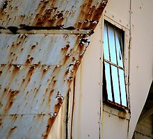 Rusty Stairwell by rdshaw